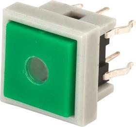 TC002N11ASGNURUB, Кнопка без фиксации с подсветкой (красная/синяя)