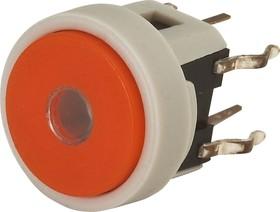 TC002N11ARGRUYUB, Кнопка без фиксации с подсветкой (желтая/синяя)