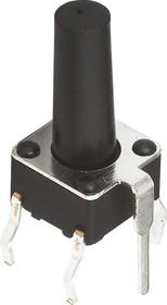 TC-0119, Кнопка тактовая с заземлением 6х6мм, h=13мм (TS-A6PG-130)