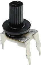 Фото 1/2 SH-R114S, 200 кОм, Резистор подстроечный