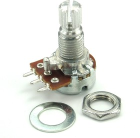 RK-1233N1-B10K, L15KC, 10 кОм, Резистор переменный