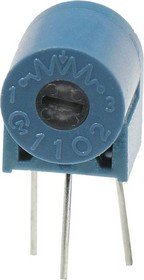 PV12T201, 200 Ом, резистор подстроечный