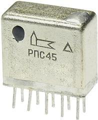 Фото 1/2 РПС45 РС4.520.755-05, Реле электромагнитное поляризованное
