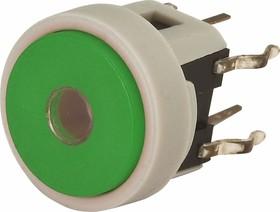 TC002N11ARGNUGUR, Кнопка без фиксации с подсветкой (зеленая/красная)
