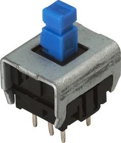 PBM-0112 (B170K), Кнопка миниатюрная с фиксацией, 6.5х6.5 мм (0.1A 30VDC)