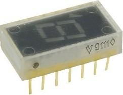 3ЛС324Б1, Индикатор семисегментный