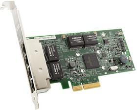 7ZT7A00484, Плата коммуникационная Lenovo ThinkSystem Broadcom 5719 1GbE RJ45 4-Port PCIe Ethernet Adapter
