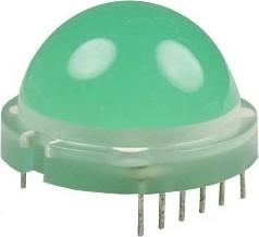 DLC/6SGD светодиодная сборка зеленая ОK d=20мм 200мКд