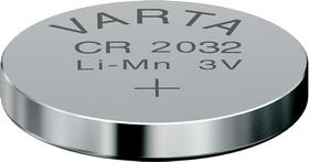 Фото 1/4 CR2032, Элемент питания литиевый (1шт) 3В