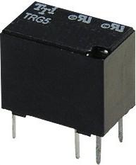 TRG5-5VDC-SA-CL-R, Реле сигнальное 5VDC / 0.5A 125VAC , 1 переключающий контакт