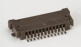 12FPZ-SM-TF, Вилка на плоский кабель 1.0мм