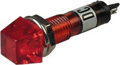 P-815R, Лампа накаливания с держателем красная 12V