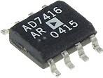 AD7416ARZ, Датчик температурный с цифровым выходом -40+125 10бит I2C 5В 2гр, [SOIC-8]