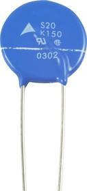 B72220-S 151-K101 (S20K150), 150 В. 85 Дж, Варистор