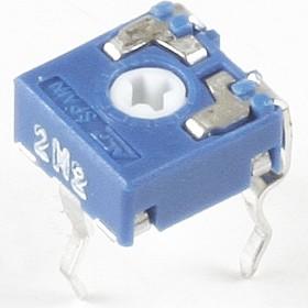CA6V, 1 МОм, Резистор подстроечный