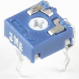 Фото 1/2 CA6V, 2.2 МОм, Резистор подстроечный