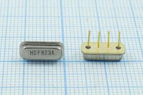 Фильтр на ПАВ 823МГц, полоса пропускания 4000кГц, SAW ф 823000 \пол\ 4000/3\F11\4P\ HDF823AF11A\\(HDF823A