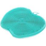 Губка силиконовая для мытья посуды Яблоко 73830