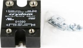 D1D20, Реле 3.5-32VDC, 20А/100VDC