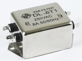 DL-8T1, 8А, 250В, Сетевой фильтр