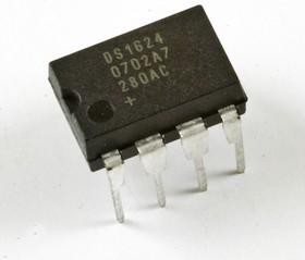 DS1624+, Термометр, 0.03С, I2C, Com, DIP8