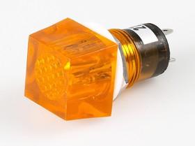 N-811Y, Лампа неоновая с держателем желтая 220V