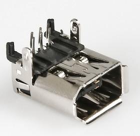 IEEE 1394 (JER-6), Розетка 6pin на плату угловая (OBSOLETE)
