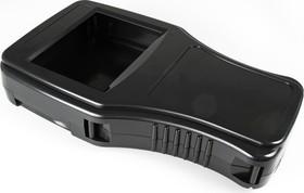 G999B(O), Корпус фигурный с отверстием 300х181.3х55 мм, пластик, черный
