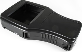G999B(S), Корпус фигурный 300х181.3х55 мм, пластик, черный