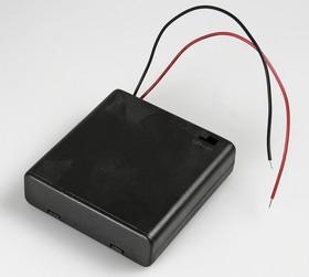SBH-341-1AS, Закрытый батарейный отсек 4xAA