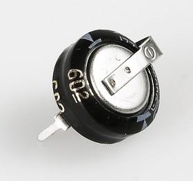 Фото 1/2 EECS0HD224H, 0.22 Ф, 5.5 В, 10 мм, 1106H, Ионистор