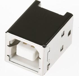 Фото 1/2 USB-B, Розетка на кабель, тип B
