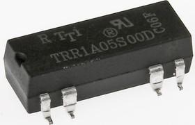 TRR-1A-05S00-R реле герк., 5В, 10мА, 1 пара норм.разомкн.конт., SMD-8 (PBF)