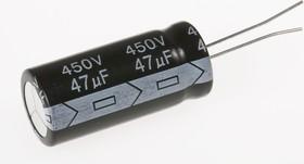 ECAP (К50-35), 47 мкФ, 450 В, 105°C, Конденсатор электролитический алюминиевый