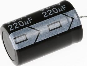 Фото 1/2 ECAP (К50-35), 220 мкФ, 350 В, 105°C, Конденсатор электролитический алюминиевый