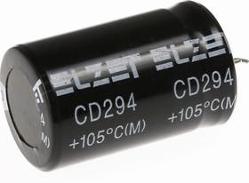 ECAP (К50-35), 150 мкФ, 450 В, 105°C, Конденсатор электролитический алюминиевый