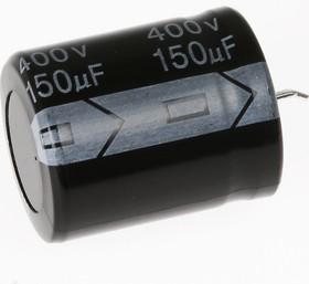 Фото 1/2 ECAP (К50-35), 150 мкФ, 400 В, 105°C, Конденсатор электролитический алюминиевый