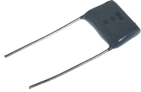 К73-17, 0.068 мкФ, 400 В, 10%, Конденсатор металлоплёночный