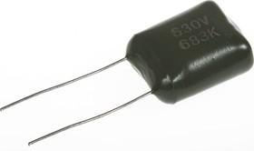 К73-17 имп, 0.068 мкФ, 630 В,5-10%, Конденсатор металлоплёночный