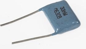 К73-17, 0.033 мкФ, 630 В, 20%, Конденсатор металлоплёночный