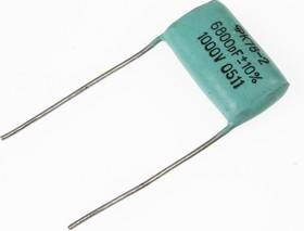 К78-2, 6800 пФ, 1000 В, 10%, Конденсатор металлоплёночный