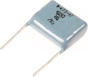 Фото 1/2 К73-17, 1.5 мкФ, 160 В, 5%, Конденсатор металлоплёночный