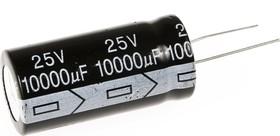 Фото 1/2 ECAP (К50-35), 10000 мкФ, 25 В, 105°C, Конденсатор электролитический алюминиевый