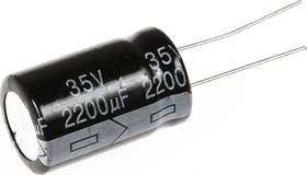 Фото 1/2 ECAP (К50-35), 2200 мкФ, 35 В, 105°C, Конденсатор электролитический алюминиевый
