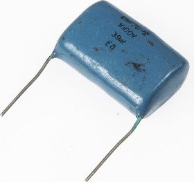 К78-2, 0.039 мкФ, 1000 В, 5-10%, Конденсатор металлоплёночный