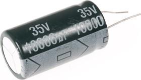 ECAP (К50-35), 10000 мкФ, 35 В, 105°C, Конденсатор электролитический алюминиевый