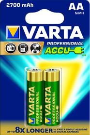 Фото 1/2 05706 PROFESSIONAL (HR6/AA), Аккумулятор никель-металлгидридный NiMH 2700mAh (2шт) 1.2В