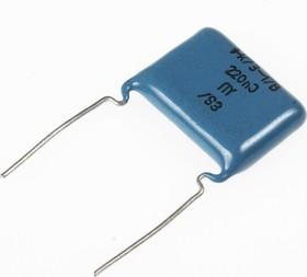 Фото 1/2 К73-17, 0.22 мкФ, 400 В, 5%, Конденсатор металлоплёночный