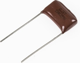 К73-17 имп, 0.33 мкФ, 250 В, 5-10%, Конденсатор металлоплёночный
