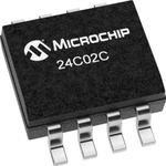 24C02C/SN, EEPROM, 2 Кбит, 256 x 8бит, Serial I2C (2-Wire), 400 кГц, SOIC ...
